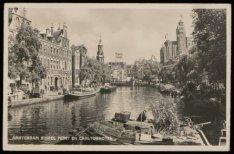 Singel gezien vanaf Koningsplein naar Muntplein