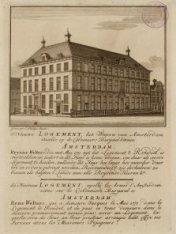'T Nieuwe Logement, Het Wapen van Amsterdam staande op de Colveniersburgwal