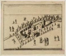 Het Reguliersklooster lag buiten Amsterdam ter hoogte van de Keizersgracht en de…