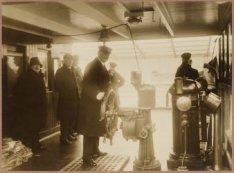 De bezetting op de brug van het vrachtpassagiersschip ss. Barentsz