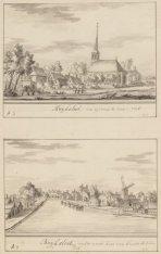 Buijksloot. van agteren te sien. 1726 / Buijksloot van de vaert.kant van binnen …