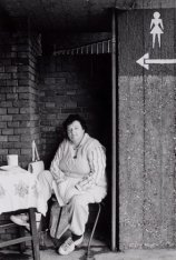 De toiletjuffrouw van het Olympisch Stadion