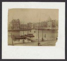 De Amstel en de Singelgracht gezien vanaf de Weesperzijde