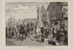 Alva's laatste rit langs den Buitenkant te Amsterdam