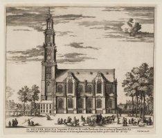 De Wester Kerck is begonnen Ao. 1620 en de eerste Predicatie daer in gedaen op P…