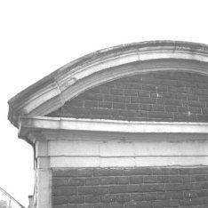 Keizersgracht 696, detail van het fronton