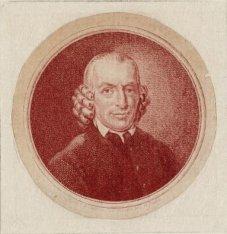 Portret van Ds. Willem Anthony van Vloten (1740-1809)
