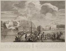 Gevechten om Amsterdam tegen de Pruisische troepen