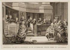 Bediening van het H. Avondmaal in de Lutherse Nieuwe Kerk te Amsterdam