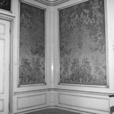 Keizersgracht, huisnummer onbekend, interieur met figuratieve wandbespanning