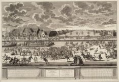 Winter Vreugde op den Amstel en 't gaan des Ysbreekers en der Waterschuiten