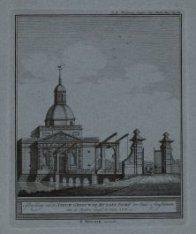 Afbeelding van de Nieuw Gebouwde Muyder Poort der Stad Amsterdam, van de Buyten …