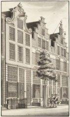 Het huis van kunstverzamelaar Hendrik Busserus aan de Haarlemmerdijk, vlakbij de…