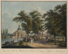 Vue de la Porte de Muiden, et de la Caserne Orange Nassau à Amsterdam