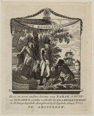 Vignet van tabakshandel J.G.A. Heukensfeldt