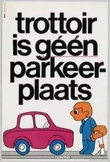Trottoir is géén parkeerplaats