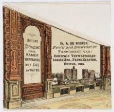 Ferdinand Bolstraat 32, reklame Fa. Koster, verwarming