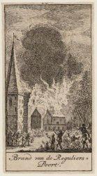 Plundering van het huis van rem Egbertszoon. Bisschop. Datering voorstelling 19-…