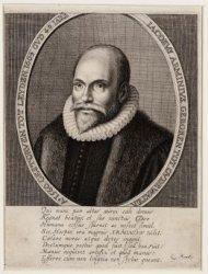 Portret van predikant Jacobus (Jacob Harmensz) Arminius (1560-1609)