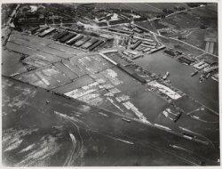 Luchtfoto van de (Nieuwe) Houthaven gezien in zuidelijke richting