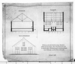 Bouw van een smederij aan de Elandsgracht 92-94, hoek Lijnbaanstraat in opdracht…