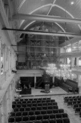 Singel 411, Oude Lutherse Kerk, interieur