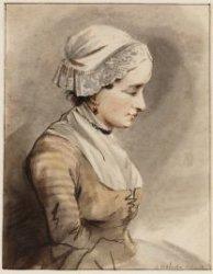 Portret van Anna de Jong (?)