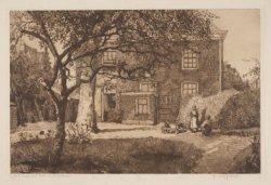 Oud huis met tuin te Hilversum