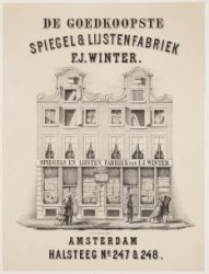 De goedkoopste Spiegel & Lijstenfabriek F.J. Winter