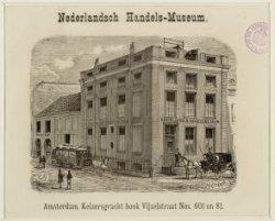 Nederlandsch Handels-Museum, Keizersgracht 601, hoek Vijzelstraat 81