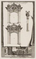 Oosterpoort van het Kerkhof/ Gezicht van 't Oude Wester Kerkhof
