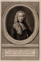 Pieter Rendorp (01-01-1703 / 08-12-1760)