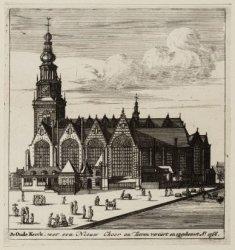 De Oude Kerck, met een Nieuw Choor en Tooren verciert en opgebouwt Ao. 1566