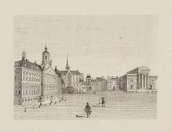 Het Koninklijk Paleis omstreeks 1850