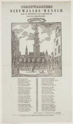 Torenwachters Nieuwjaars-wensch. Aan de inwoners van Amsterdam. Zuider Kerkstore…
