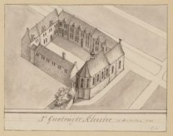 St Geertruyts Klooster in Amsterdam 1545
