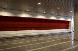 Interieur van het Stadsdeelhuis Oost-Watergraafsmeer in aanbouw aan het Oranje-V…