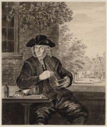 Portret van  Barend Jansz. uit het Burgerweeshuis, Kalverstraat 92
