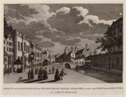 Links de Hoogduitse- en de Nieuwe Synagoge op J.D. Meijerplein 2-4