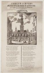 Torenwachters Nieuwjaarswensch, opgedragen aan de inwoners van Amsterdam. Zuider…