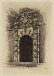 Het Athenaeum-Poortje