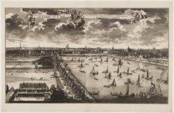 Amsteldam aan de Land Zyde van den Buyten Amstel aan te zien/ Vue Exterieurre de…