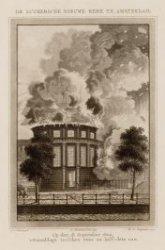 De Luthersche Nieuwe Kerk te Amsterdam. Op den 18 september 1822, 's Namiddags t…