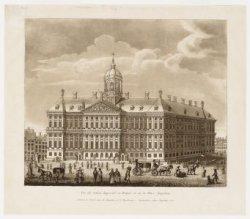 Vue du Palais Imperial et Royal, et de la Place Napoléon
