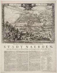 Afbeelding en pertinent Verhael van het Belegeren en innemen der Stadt Naerden