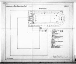 Ontwerp zwembad Sportfondsenbad West, Jan van Galenstraat. Schets- en ontwerptek…