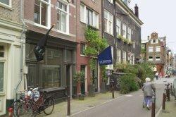 Eerste Looiersdwarsstraat 2-4 (v.r.n.l.), gezien naar Elandsgracht