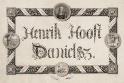 Huldeblijk aan burgemeester Hendrik Hooft Danielsz.(1716-1794), burgemeester van…