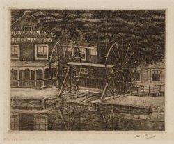 Het Polderhuis en de overhaal aan de Boerenwetering