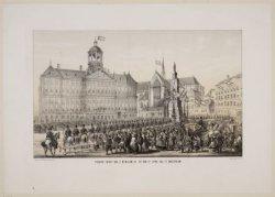 Plegtige intogt van Z.M. Willem III, op den 9n April 1861, te Amsterdam